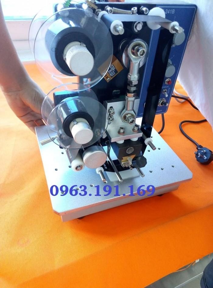 Máy in date tự động, máy in ngày tháng hạn dùng trên bao bì