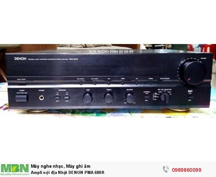 Ampli nội địa Nhật DENON PMA 680R0