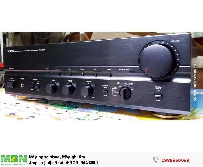 Ampli nội địa Nhật DENON PMA 680R1