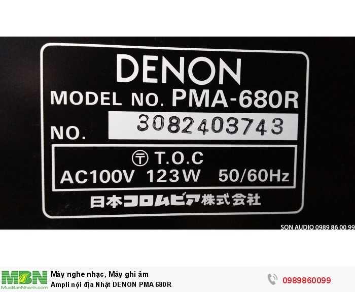 Ampli nội địa Nhật DENON PMA 680R10