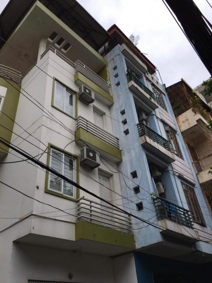 Bán nhà phân lô phố Đào Tấn, Ba Đình 53m2, 5 tầng, MT 5.2m