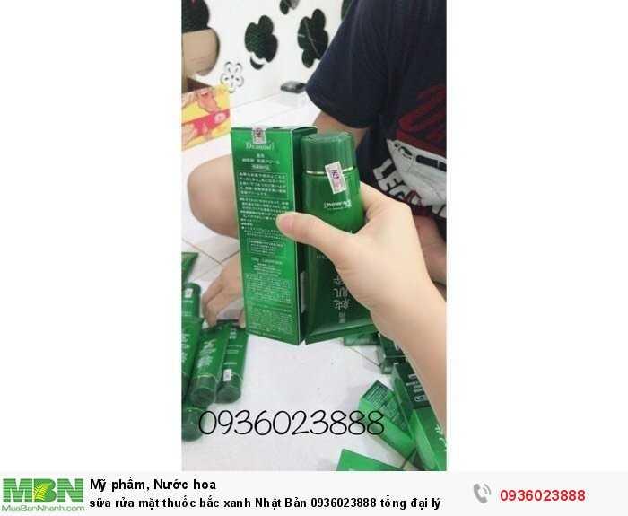 Sữa rửa mặt thuốc bắc xanh Nhật Bản