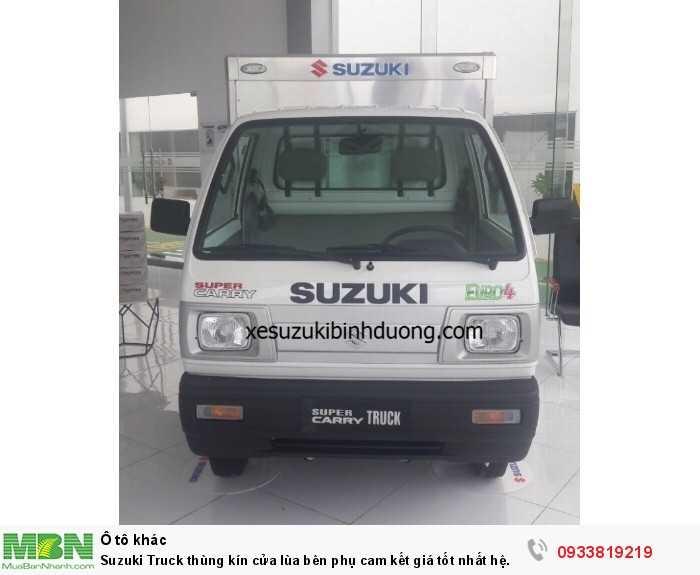 Suzuki Truck thùng kín cửa lùa bên phụ cam kết giá tốt nhất hệ thống
