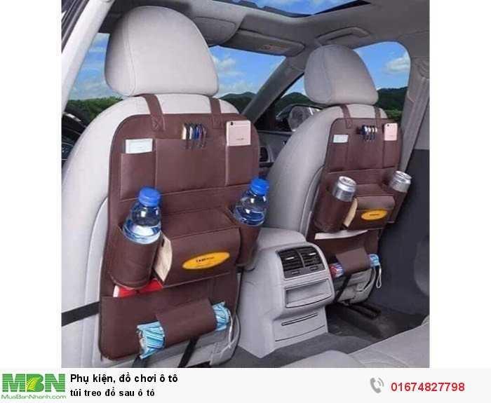 Túi treo đồ sau ô tô