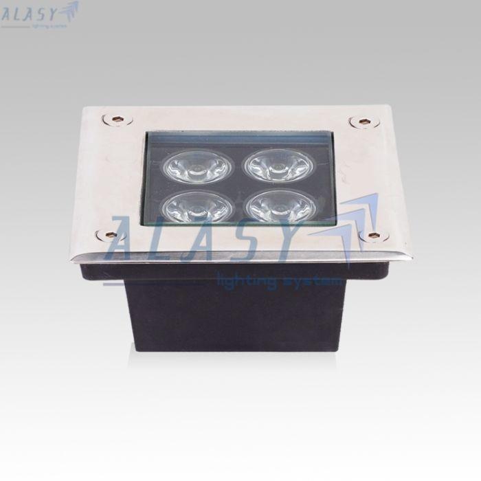 ❖ Công Suất : 4W ❖ Chip LED: Bridgelux (Mỹ)  ❖ Quang Thông: 400 – 480 lumen ❖ Độ hiển thị màu sắc: Ra > 75 ❖ Điện áp hoạt động: 12VAC/DC – 24VAC/DC /  220VAC/DC ❖ Kích thước: L140x140xH60 mm ❖ Màu sắc: Tùy chọn trong các màu: Trắng , Vàng, Tự Nhiên ❖ Cấp độ bảo vệ: IP 650