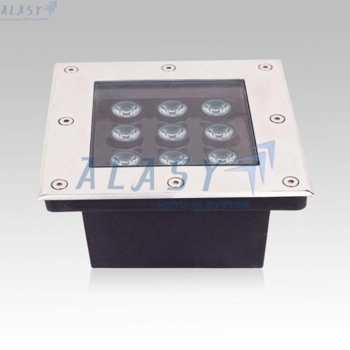 ❖ Công Suất : 9W ❖ Chip LED: Bridgelux (Mỹ)  ❖ Quang Thông: 900 – 1080 lumen ❖ Độ hiển thị màu sắc: Ra > 75 ❖ Điện áp hoạt động: 12VAC/DC – 24VAC/DC – 220VAC/DC ❖ Kích thước: L160x160xH60 mm ❖ Màu sắc: Tùy chọn trong các màu: Trắng , Vàng, Tự Nhiên ❖ Cấp độ bảo vệ: IP 650