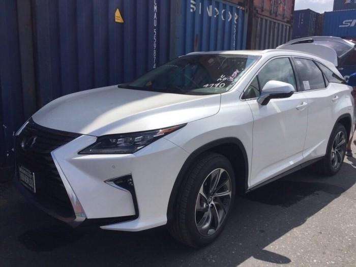 Bán Lexus Rx350L 2018 USA mới 100% - 7 chỗ,Xe và giấy tờ giao ngay