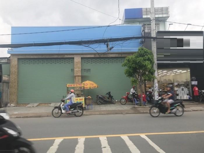 Cho thuê nhà mặt tiền Lê Văn Khương, p. Hiệp Thành. Q.12  dt 600m2