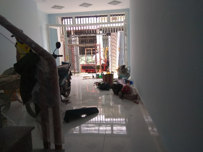 Nhà ĐẸP SHR dt sàn 110 m2, 3,55 tỷ hẻm 8 đường Hồ Văn Tư, Thủ Đức.