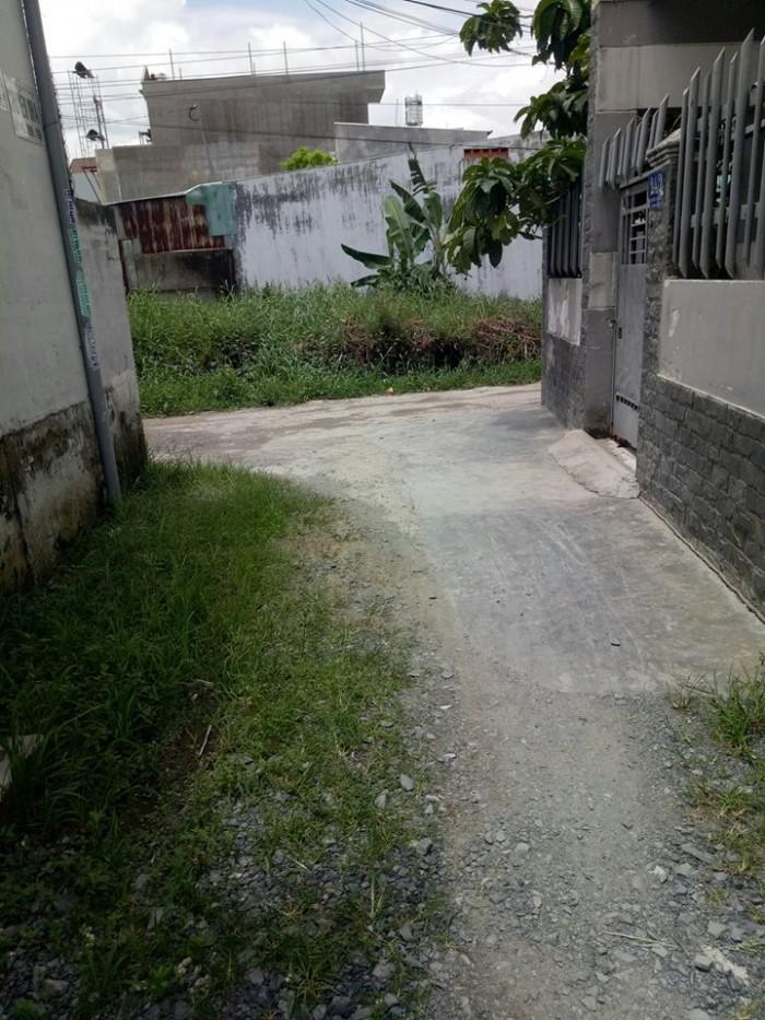 Bán lô đất HXH TL44,Quận 12,DT: 4X14(56m2) cách Hà Huy Giáp 100m