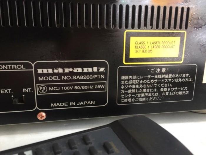Bán chuyên CD MARANTZ 8260  hàng bãi chọn lọc từ Nhật về, mới5