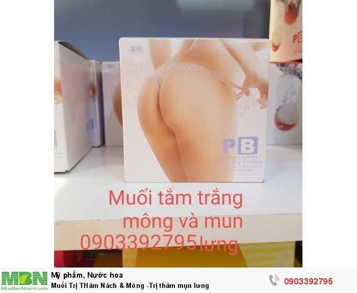 Muối Trị THâm Nách & Mông -Trị thâm mụn lưng0