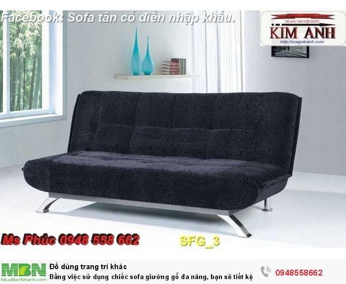 Bằng việc sử dụng chiếc sofa giường gỗ đa năng, bạn sẽ tiết kệm được tiền mua 2 bộ nội thất9