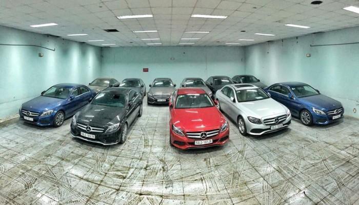 Mercedes-Benz C200 sản xuất năm 2017 Số tự động Động cơ Xăng