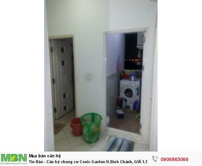 Căn hộ chung cư Conic Garden H.Bình Chánh, GIÁ 1,1 TỶ, DT 70m2, 2PN