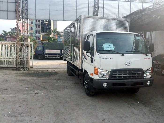 Hyundai Porter 150, HD700 Đồng vàng satxi, thùng kín, thùng bạt