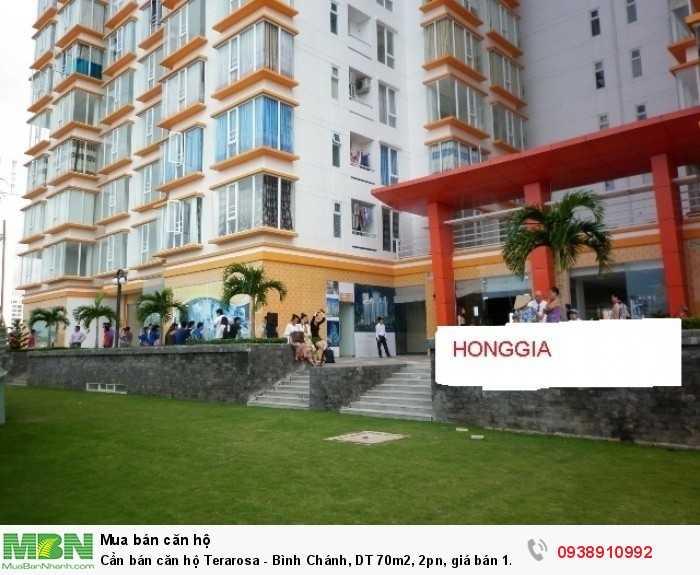 Cần bán căn hộ Terarosa - Bình Chánh, DT 70m2, 2pn, giá bán 1.35 tỷ
