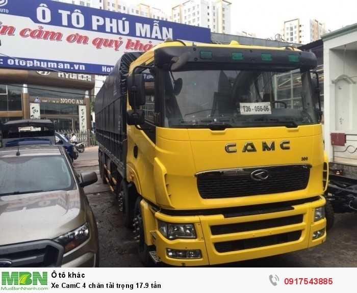 Xe CamC 4 chân tải trọng 17.9 tấn 0