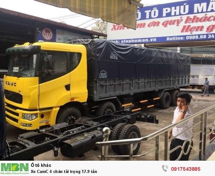 Xe CamC 4 chân tải trọng 17.9 tấn 3