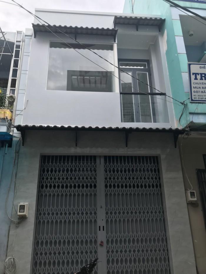 Cần Bán Nhà Hẻm 363 Đất Mới . ( 4x10,6m ) Q . Bình Tân