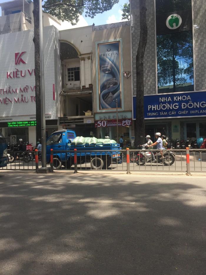 Bán nhà MT Bà Hạt – Nguyễn Tri Phương. DT 3.5x16 2 lầu