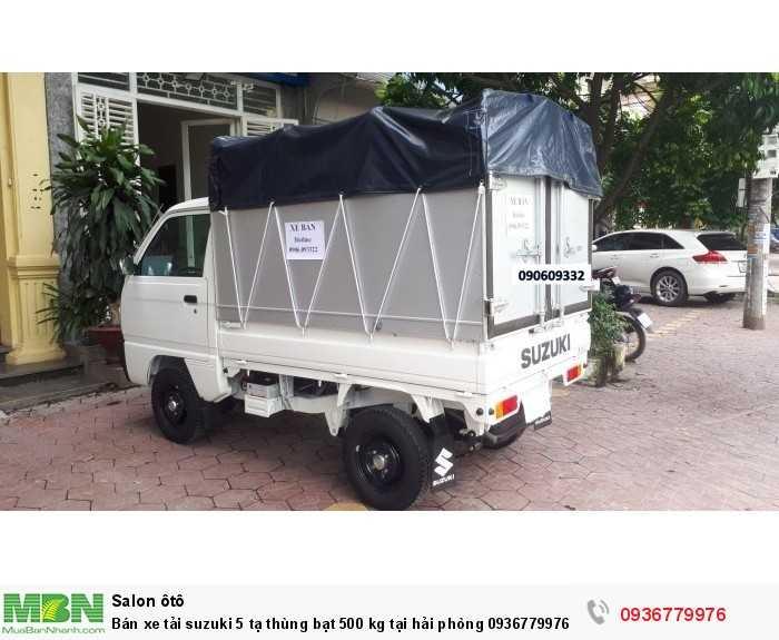 Bán xe tải suzuki 5 tạ thùng bạt 500 kg tại hải phòng