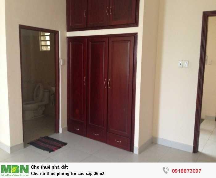 Cho nữ thuê phòng trọ cao cấp 36m2