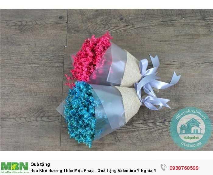 Hoa Khô Hương Thảo Mộc Pháp - Quà Tặng Valentine Ý Nghĩa NX60