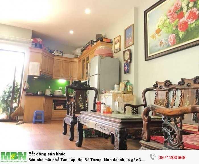Bán nhà mặt phố Tân Lập, Hai Bà Trưng, kinh doanh, lô góc 3 thoáng, 45m2 x 5T