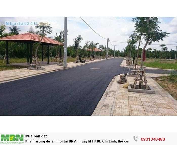 Khai trương dự án mới tại BRVT, ngay MT KDL Chí Linh, thổ cư 100%