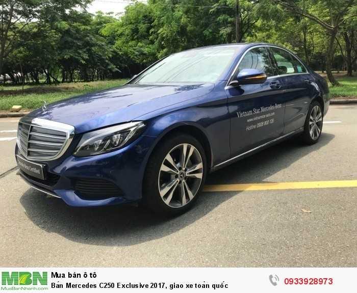 Bán Mercedes C250 Exclusive 2017, giao xe toàn quốc 3