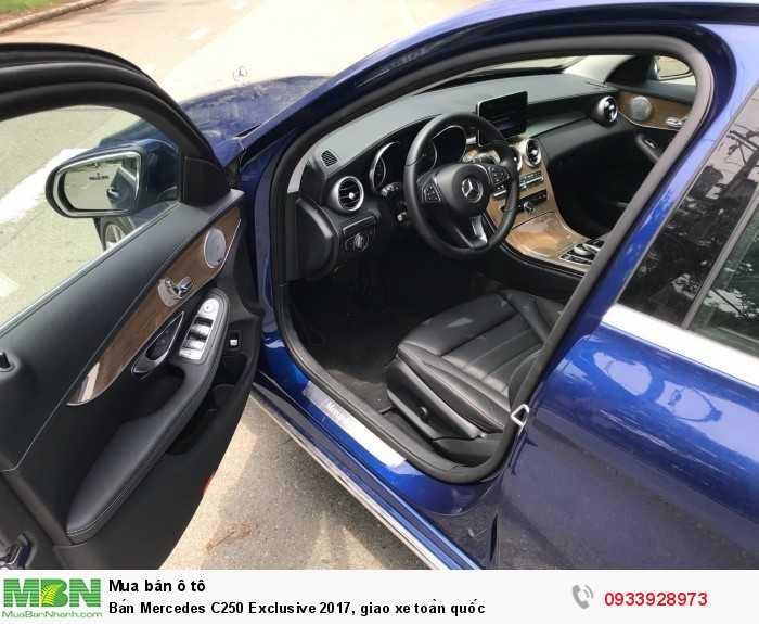 Bán Mercedes C250 Exclusive 2017, giao xe toàn quốc 8