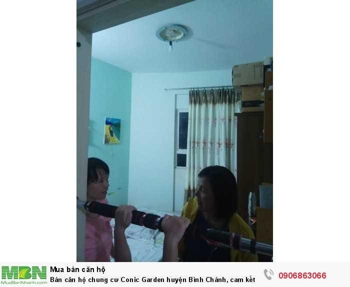 Bán căn hộ chung cư Conic Garden huyện Bình Chánh, cam kết mới đẹp, giá 1,1 tỷ, 70m2, SHR