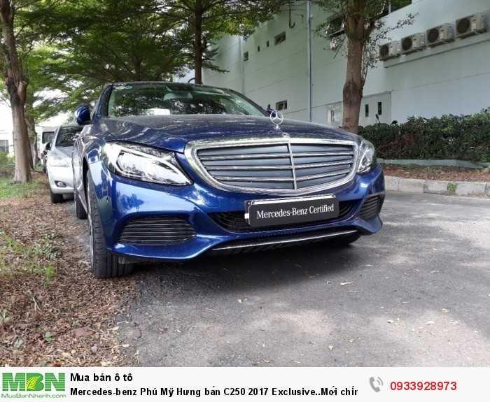 Mercedes-benz Phú Mỹ Hưng bán C250 2017 Exclusive..Mới chính hãng