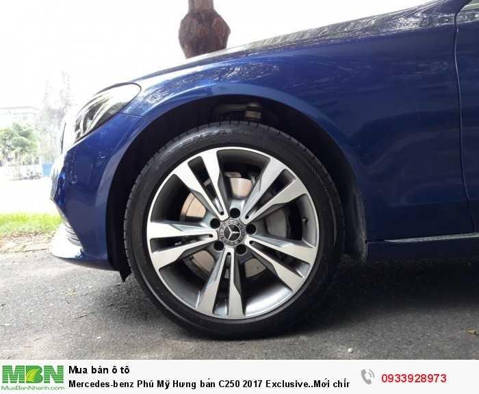 Mercedes-benz Phú Mỹ Hưng bán C250 2017 Exclusive..Mới chính hãng 4