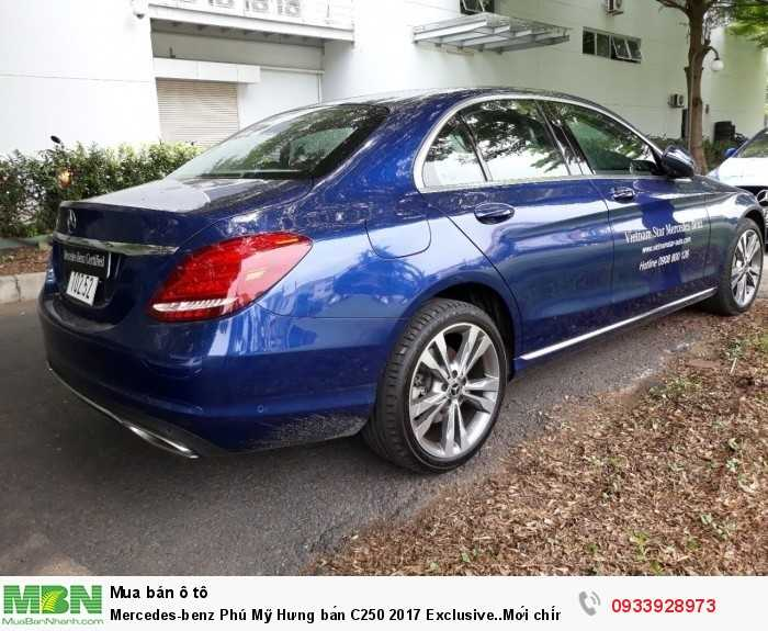 Mercedes-benz Phú Mỹ Hưng bán C250 2017 Exclusive..Mới chính hãng 5