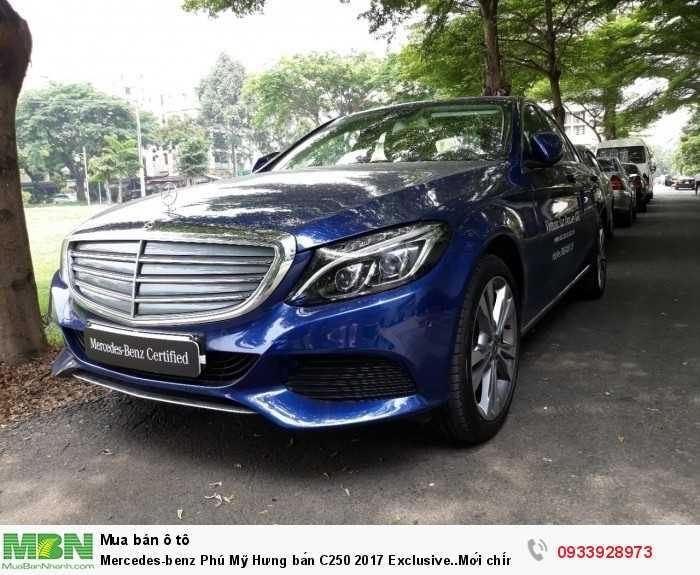 Mercedes-benz Phú Mỹ Hưng bán C250 2017 Exclusive..Mới chính hãng 6