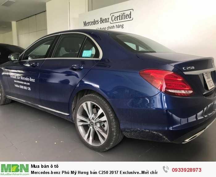 Mercedes-benz Phú Mỹ Hưng bán C250 2017 Exclusive..Mới chính hãng 11