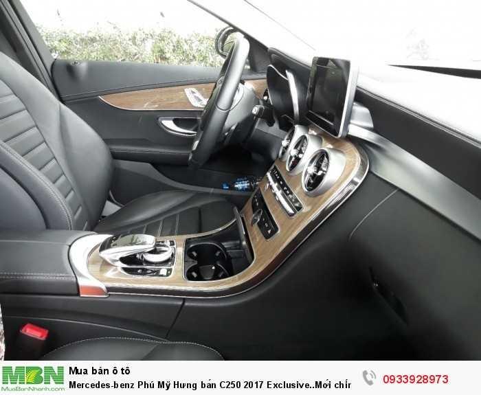 Mercedes-benz Phú Mỹ Hưng bán C250 2017 Exclusive..Mới chính hãng 12