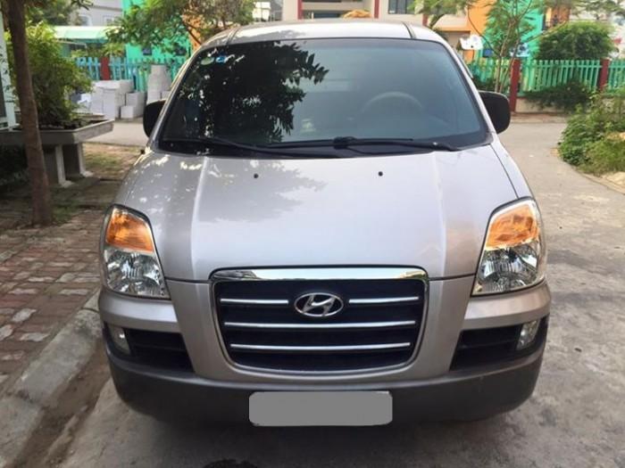 Cần bán Hyundai Starex 2004 dk 2008 máy dầu màu bạc 5 chỗ còn rất đẹp. 4