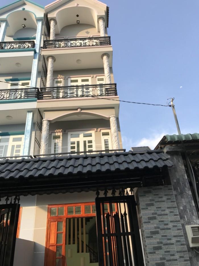 Nhà MỚI SHR 3 lầu , Hẻm ô tô Dương Đình Hội ~172 m2, 4,7 tỷ, nhà đẹp như hình