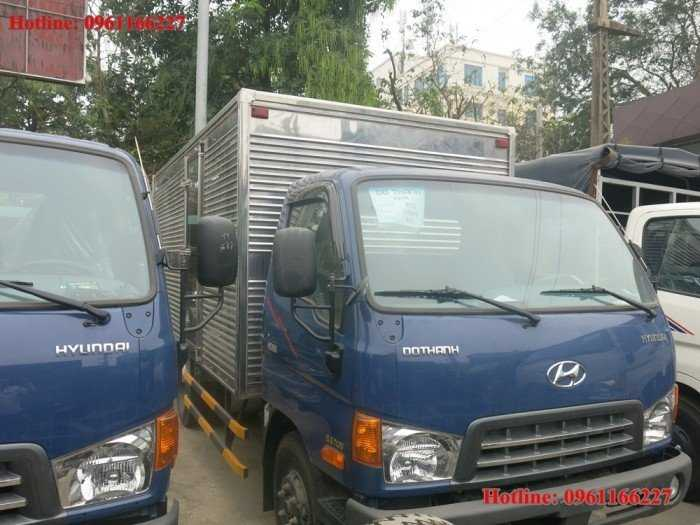 Hyundai HD120SL tải trọng 8,1 tấn thùng dài 6,3m