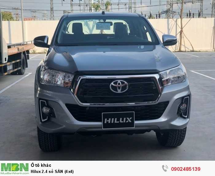 Toyota Hilux Số tay (số sàn)