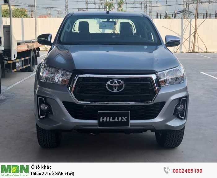 Hilux 2.4 số SÀN (4x4) 3
