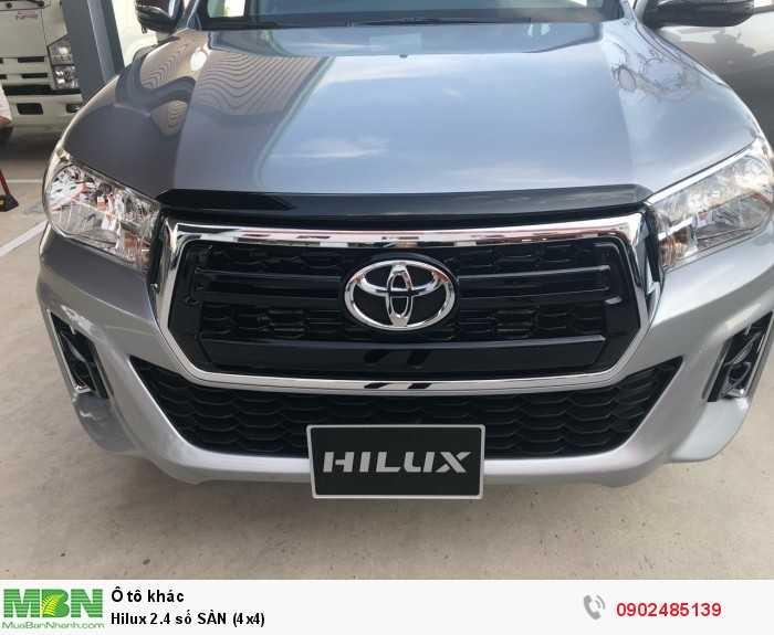 Hilux 2.4 số SÀN (4x4) 4