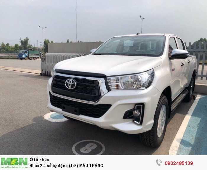 Toyota Hilux Số tự động