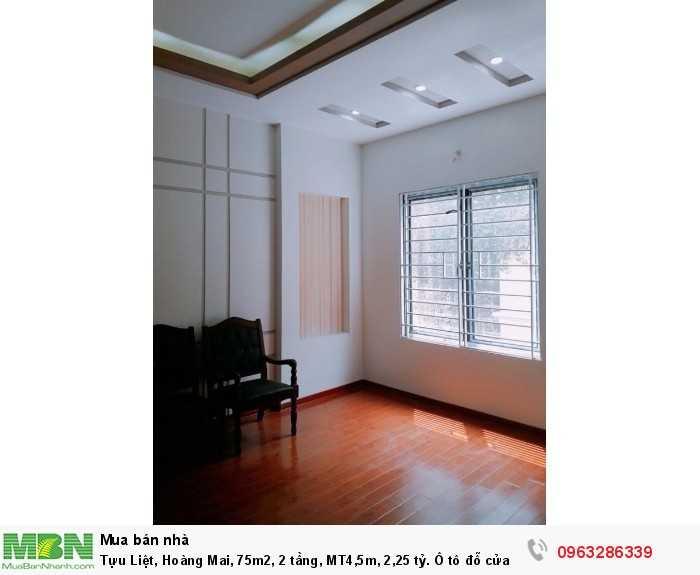 Tựu Liệt, Hoàng Mai, 75m2, 2 tầng, MT4,5m, 2,25 tỷ. Ô tô đỗ cửa