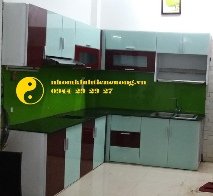Tủ Bếp Nhôm Kính Sơn Tĩnh Điện Treo Tường Cao Cấp Đẹp Giá Rẻ Tphcm4