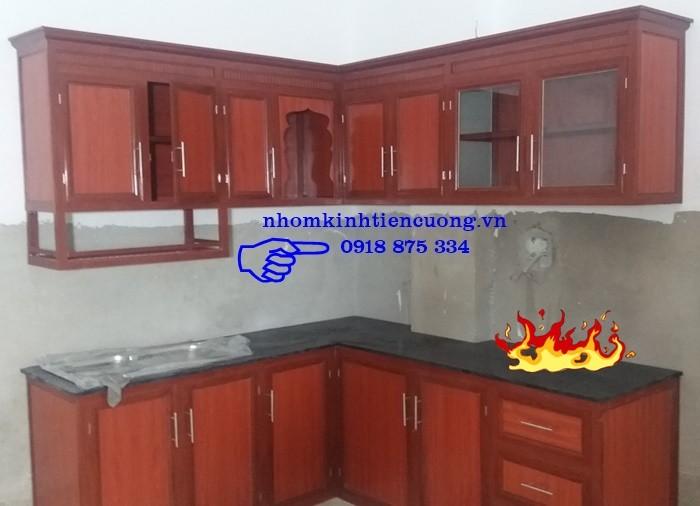 Tủ Bếp Nhôm Kính Sơn Tĩnh Điện Treo Tường Cao Cấp Đẹp Giá Rẻ Tphcm5