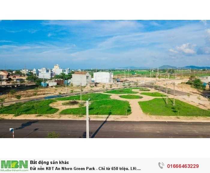 Đất nền KĐT An Nhơn Green Park - Chỉ từ 650 triệu.